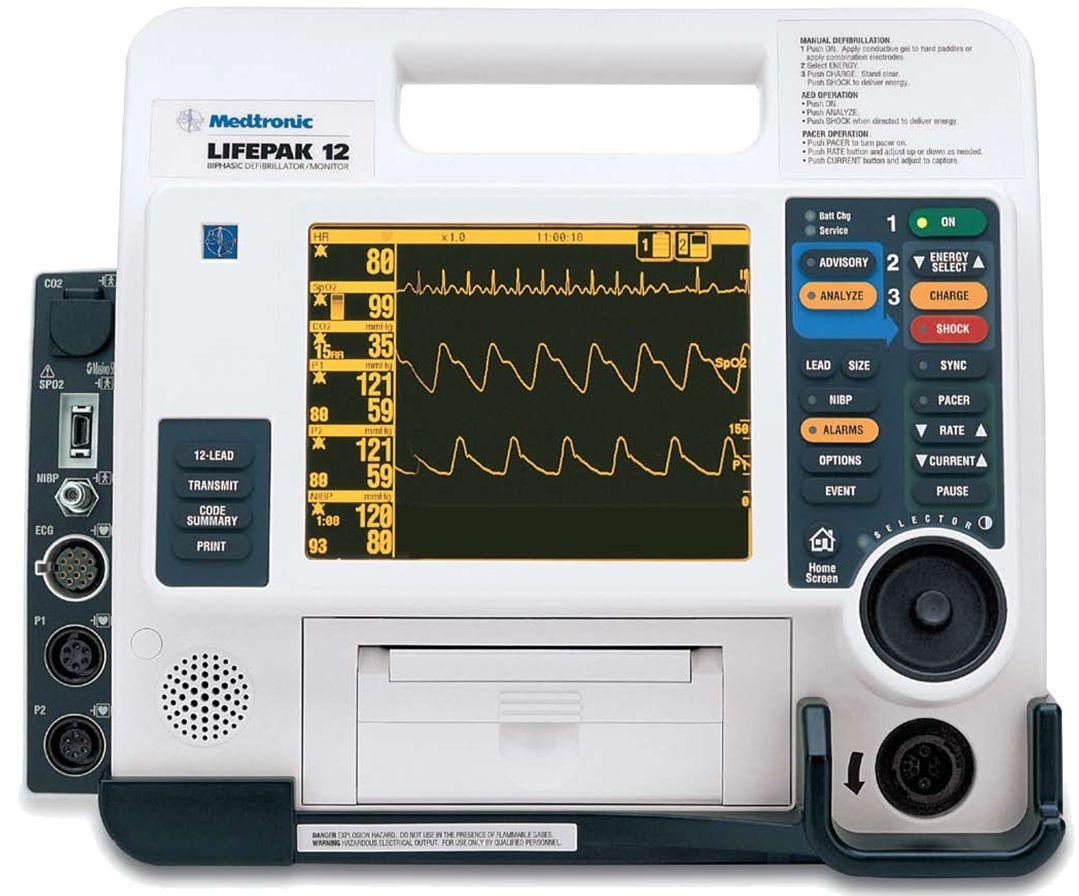 Physio Control Lifepak 12